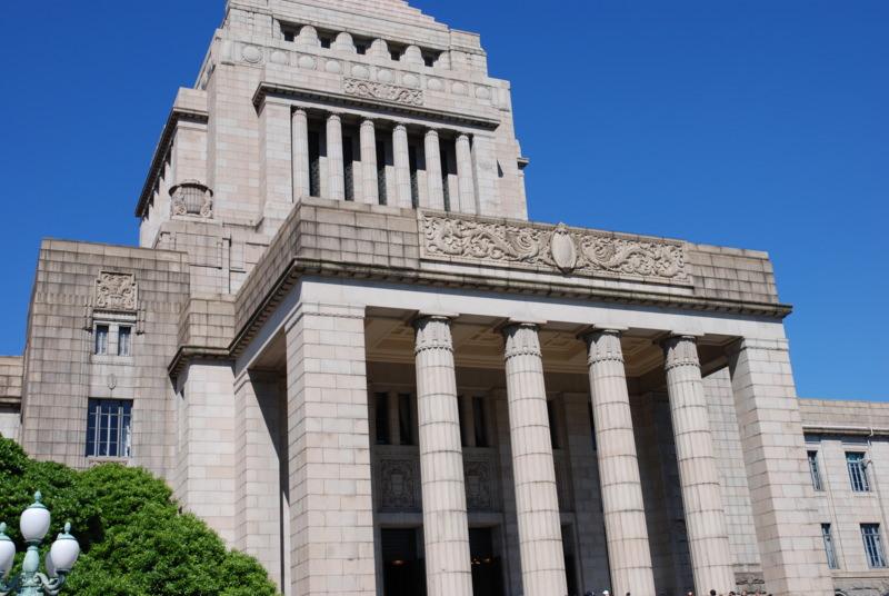 国会議事堂と議員会館は地下通路で繋がっている
