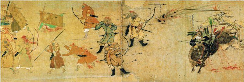 元寇は艦隊決戦だった。日本水軍は元の軍船を打ち破り太宰府占領計画は消えた